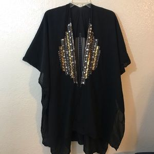 Express Poncho one size
